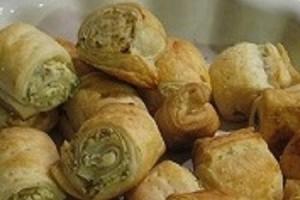 Bocconcini con olive e philadelphia