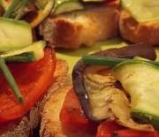 Bruschette con verdure grigliate