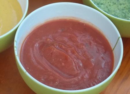 Salsa rossa per accompagnare il bollito