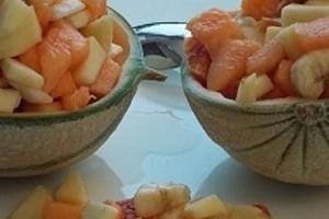 Melone con macedonia