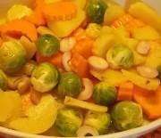 Misto di verdure al rosmarino