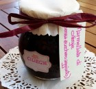 Marmellata fatta in casa di ciliegie