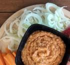 Hummus di ceci e peperoni