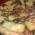 Torta salata con fagiolini, formaggio e patate