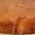 Torta con glassa all'arancia